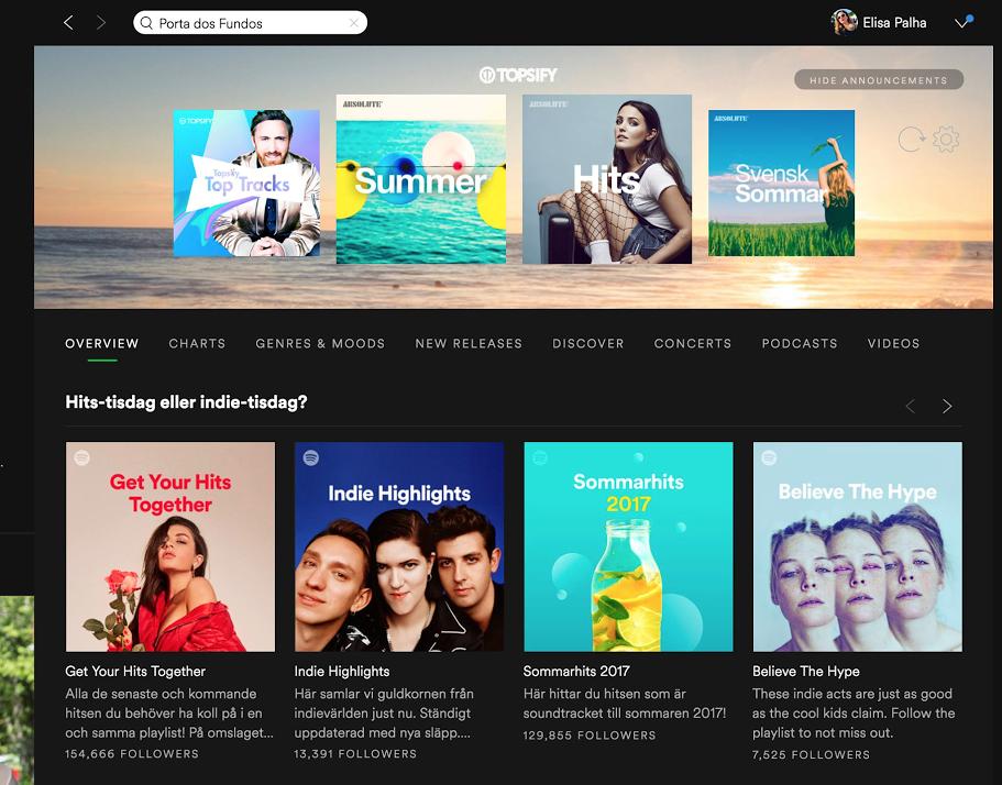Spotify Podcasts Desktop