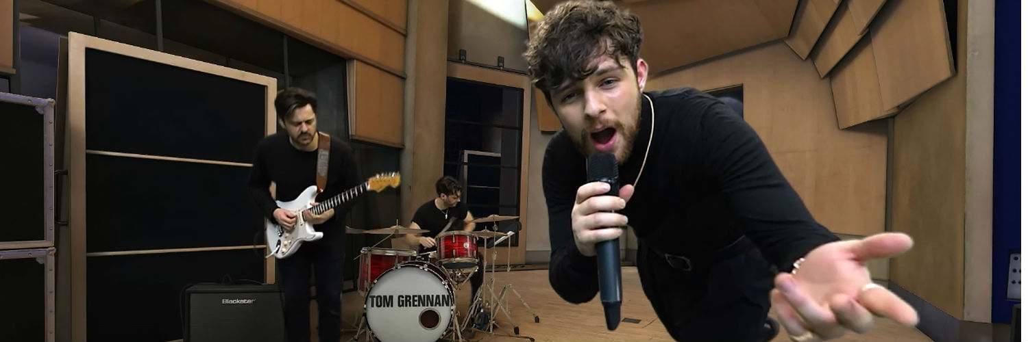 Sony launches virtual-reality experience for artist Tom Grennan