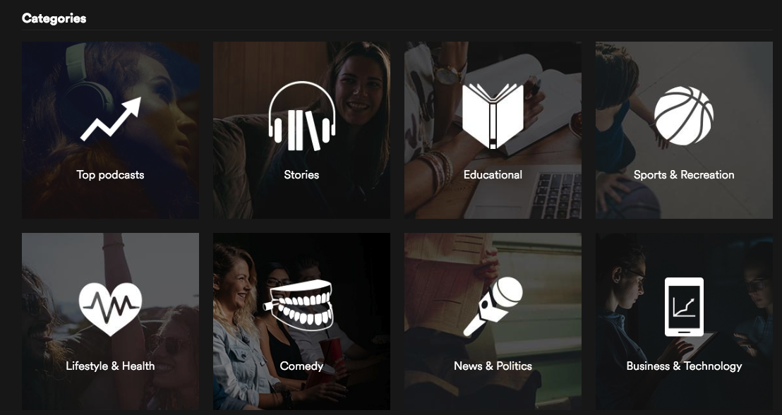 Spotify is testing five curated podcast playlists - Music Ally