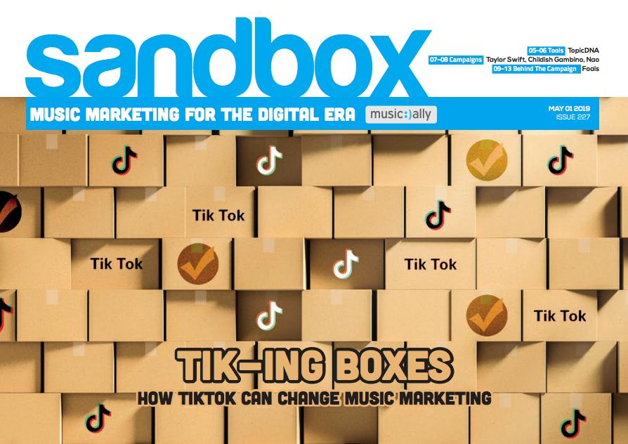 Sandbox Issue 227: TIK-ING BOXES  How TikTok can change music