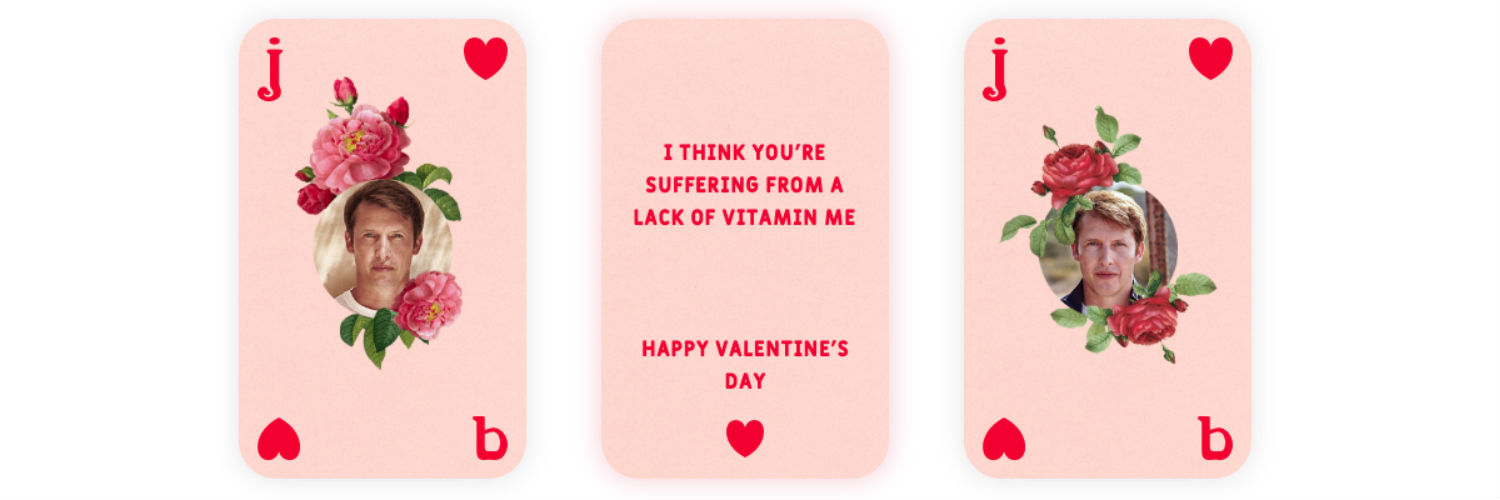 James Blunt launches audio e-cards campaign for Valentine's Day