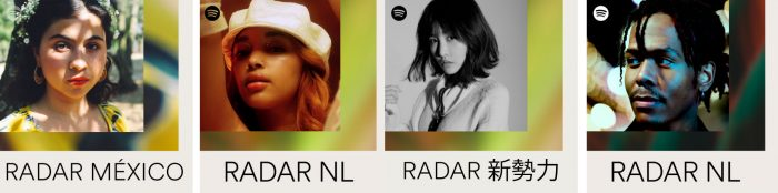 radar playlists