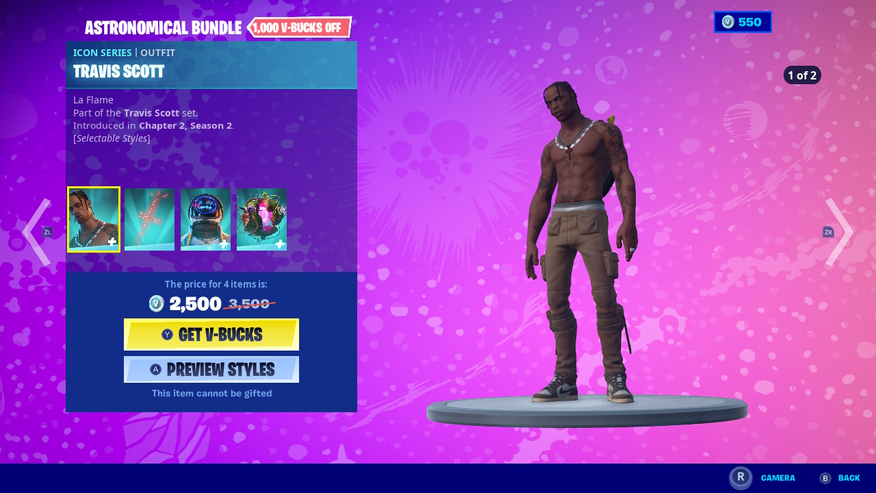 Goosebumps Travis Scott Roblox Id Full Song Fortnite Reveals Items And Challenges For Travis Scott Astronomical Event