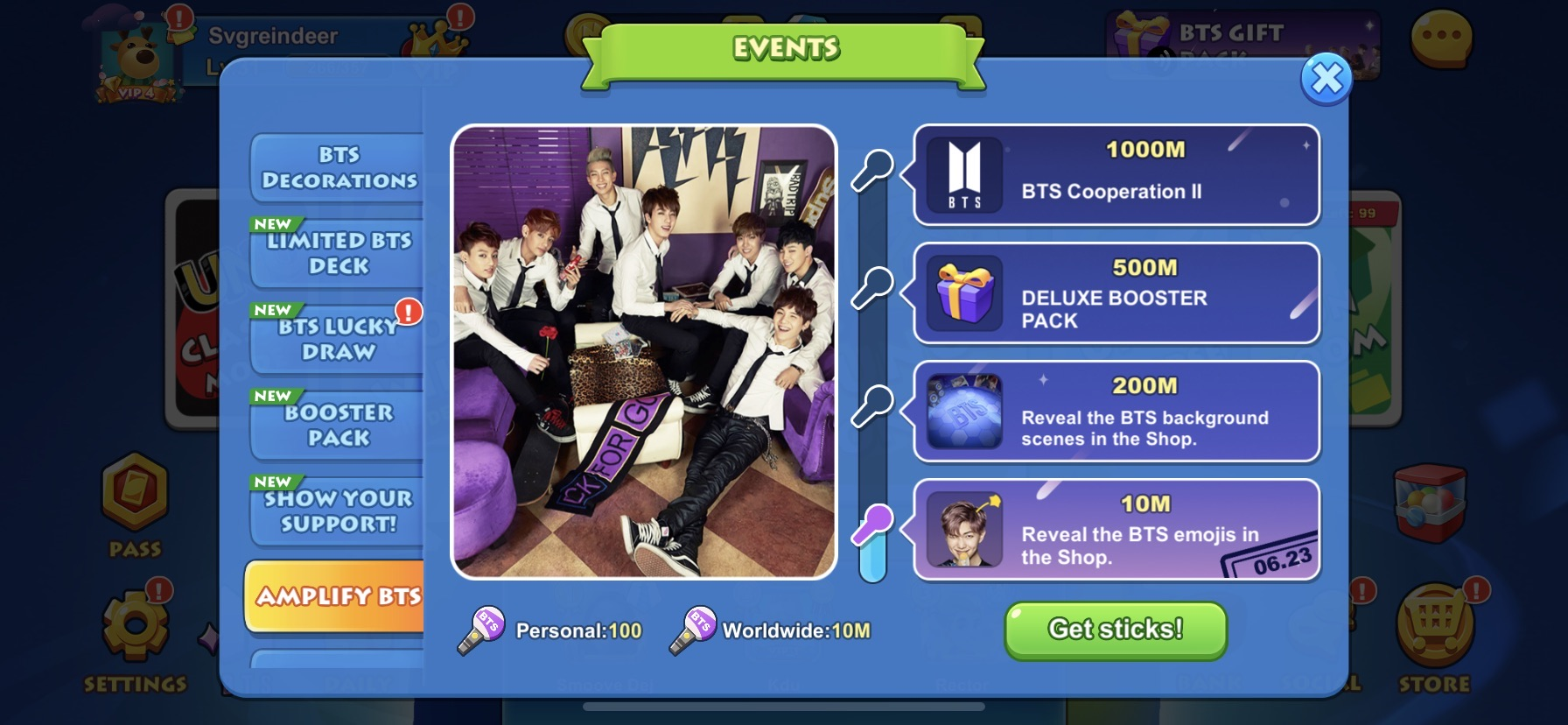 Bts Take Over Uno Mobile Game And Donate To Crew Nation