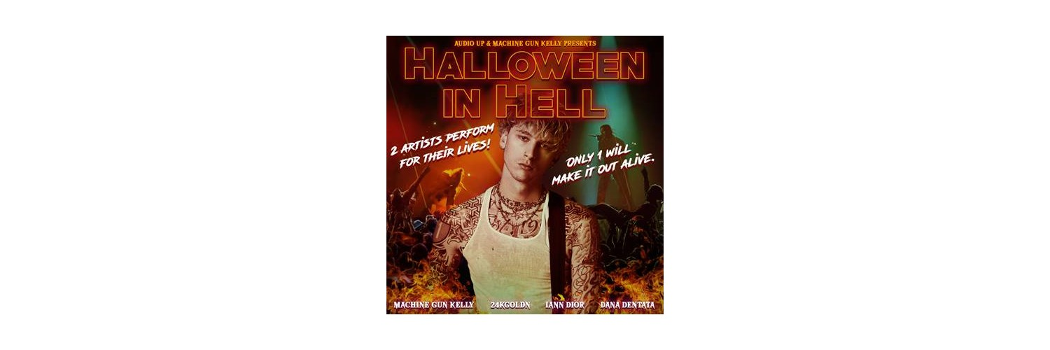 Musically Halloween 2020 Machine Gun Kelly's new podcast is a Halloween themed musical