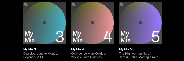 Youtube Music Tests Spotify Daily Mix Style My Mix Playlists