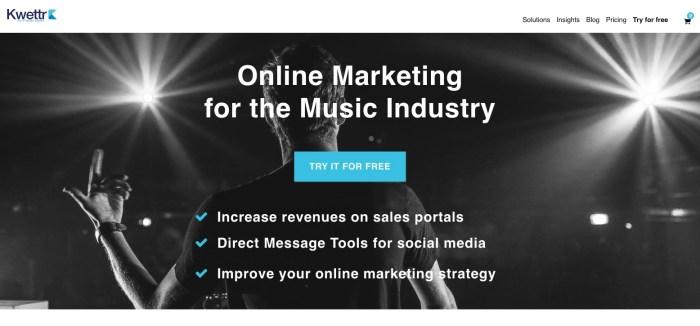 Best Tools Music Marketing 2021